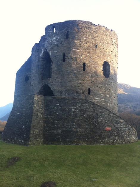 Dolbadarn castle near Llanberis.