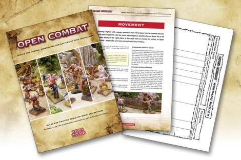 Open Combat rulebook
