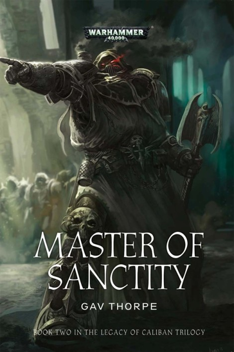 Master of Sanctity novel cover