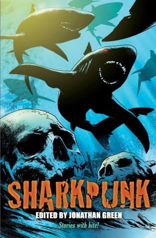 Cover for the Sharkpunk anthology